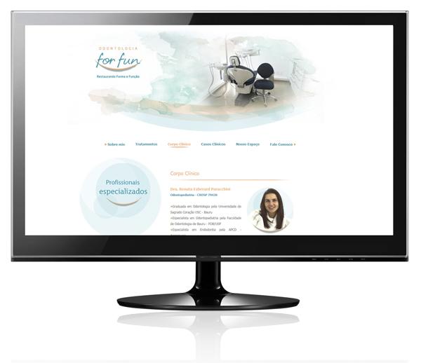 Desenvolvimento de sites para dentistas, logotipo consultório odontológico, logo dentista