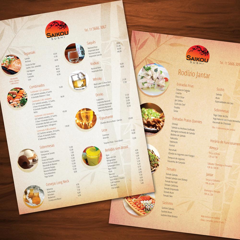 Modelos de menu para restaurantes for Modelos de restaurantes