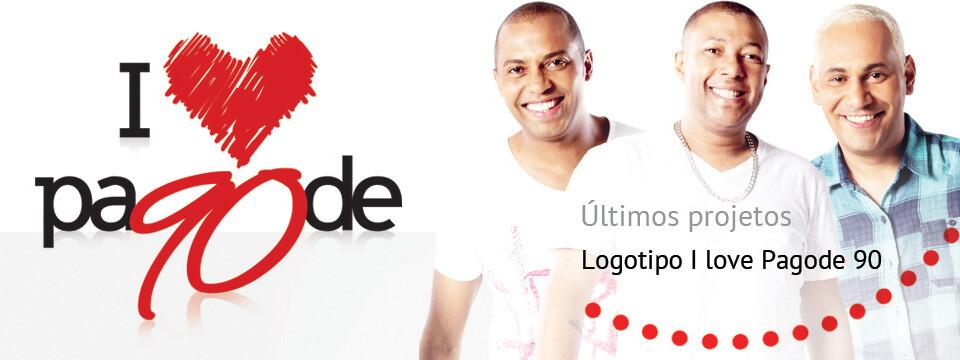 Logotipo Pagode 90