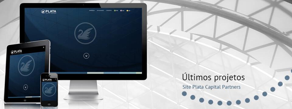 Website responsivo empresa de investimentos