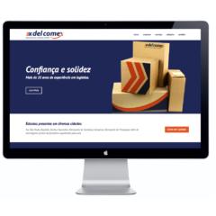 Website para Assessoria em Comércio Exterior